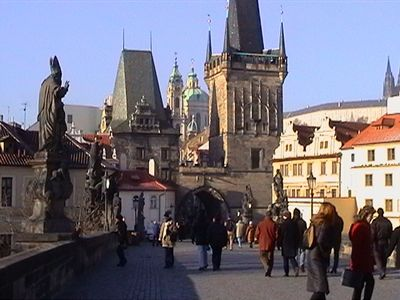 Prague 8 - Florenc apartment rental - Charles Bridge and Prague Castle