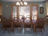 Our Big Dining Room Table Easily Seats Ten!