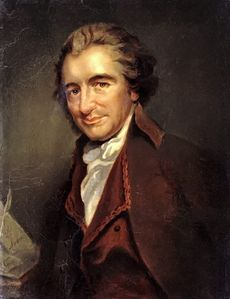 Thomas Paine - a portrait.