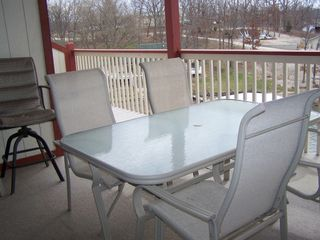 Lake Ozark condo photo - Patio-photo does not include the whole patio