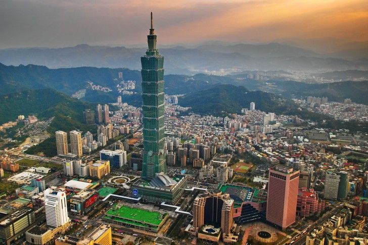Image gallery taipei 101 advantages for Taipei financial center corp