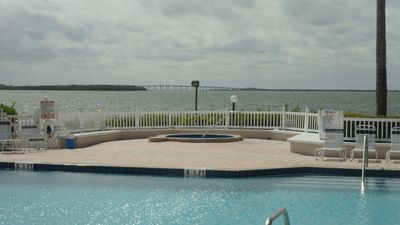 Isla del Sol condo rental - View from pool