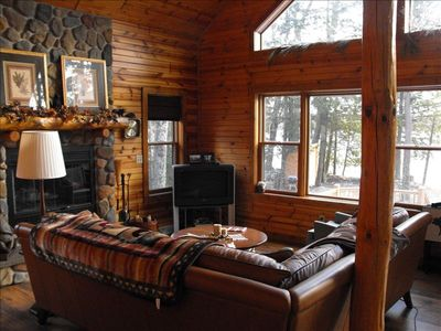 Crandon cottage rental - Family Room