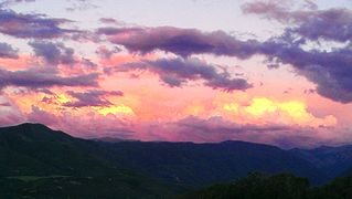 Snowmass house photo - Sunset at Juniper House