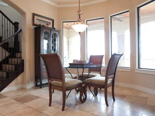Lago Vista house photo - Breakfast nook overlooking Lake Travis