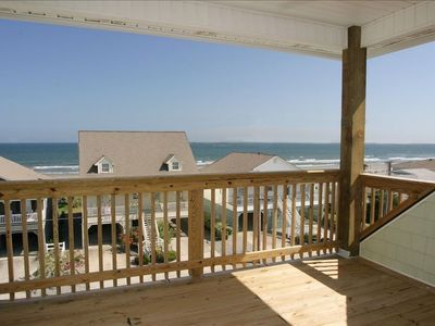 Watch the waves from your private deck – just 40 steps to the beach