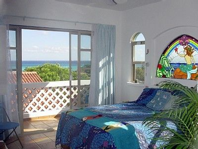 "Third floor ""Aloha Suite"" has great ocean view, mini-bar, private bath & terrace"