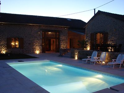 Gite, large capacity, services, pool, Jacuzzi, sauna, relaxation, activities