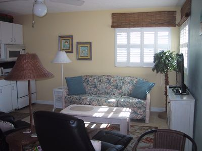 Sunny and cheerful living area