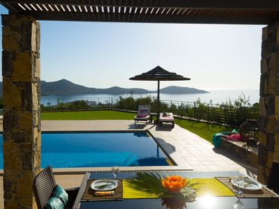 Elounda villa rental - PANORAMIC VIEW
