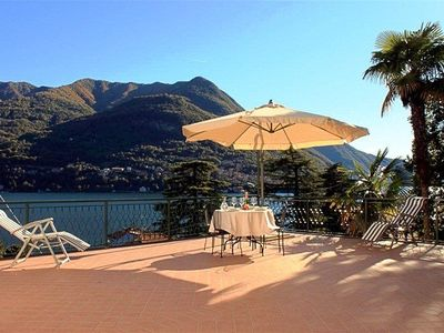 Terrazza Elegante's lake & mountain view terrace