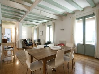 El Raval apartment photo - View from Dining to Living Area