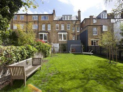 Five bed, two bathroom family home with a large garden in Queens Park