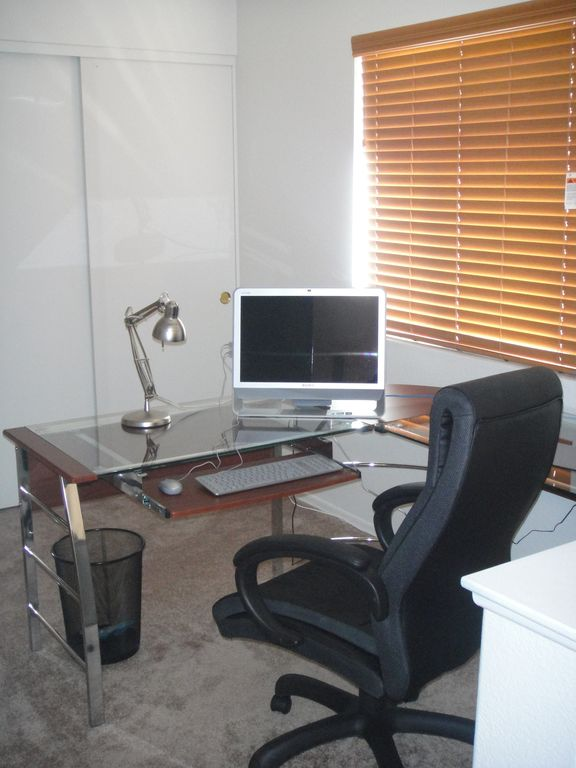 office studio and wi-fi. The computer is not included.