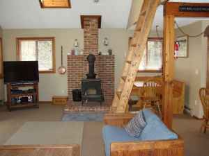 Madison chalet photo - .open floor paln, with loft above,