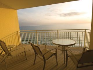Panama City condo photo - Beautiful Balcony View!