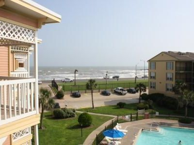 Enjoy the Gulf view and breezes from the deck off the living room.
