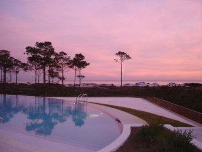 Sunset View from Cypress Dunes Pool