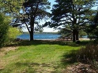 Brewster house photo - Sheeps Pond beach with picnic area is a short stroll away.