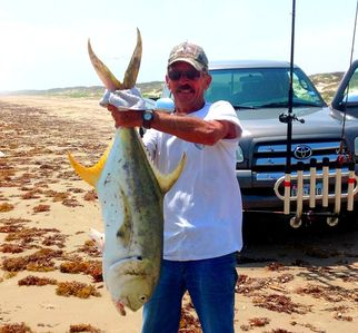 Corpus Christi house rental - Big fish can also be found in the surf (beach).