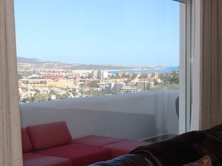 Cabo San Lucas condo photo - Magnificent Views From Inside The Living Room...