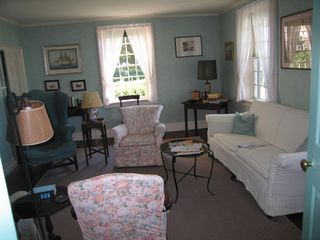 Mattapoisett house photo - Big House, Small Living Room
