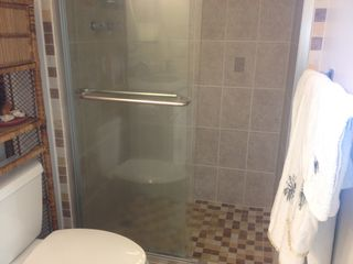 Makaha condo photo - Bathroom stand up shower