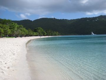Beautiful Magens Bay Beach