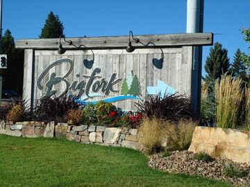 Quaint town of BIGFORK is 5 minutes away