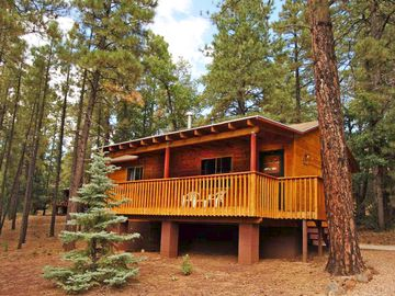 Pinetop cabin rental - Cabin 33 - Front view