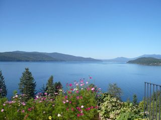 Sandpoint house photo - Your view upon wakening each morning.