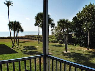 Sanibel Island condo photo - Spacious Lanai for your relaxation in Gulf Breezes