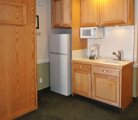 Heavenly Valley studio photo - Kitchenette in a Studio Unit at the Stardust Tahoe