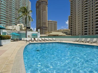 Enjoy the pool when you want a break from the beach!