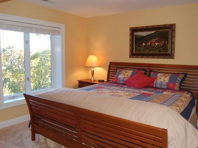 Lower Level King Bedroom with Mountain Views and Full Bath