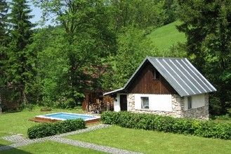 Small, cozy holiday home located directly at a piste