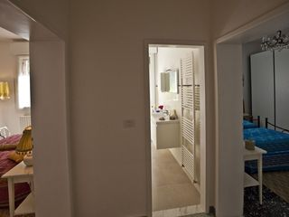 Bologna apartment photo - The bathroom is in between the two bedrooms.