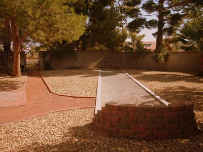 Las Vegas house rental - Horseshoe Pit