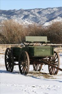From days gone by....Freight Wagon.