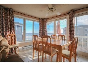 Brant Beach house photo - Dining 2nd floor with view