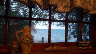 Port Sanilac cottage photo - View out kitchen window.