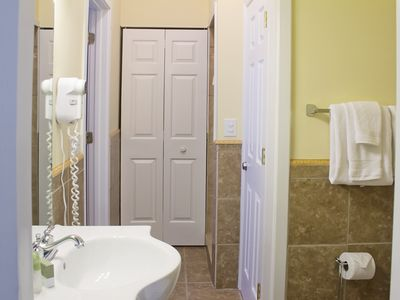 Bathroom adjoining Bedroom 1