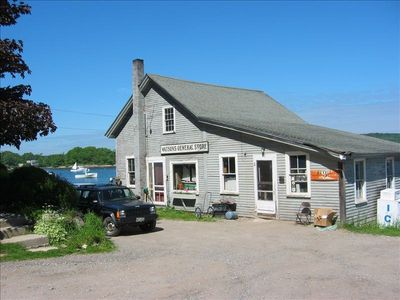 Watkins General Store. Best place to buy lobsters! Walk or quick drive there.