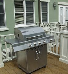 Kiawah Island house photo - A gas grill is provided for those who love to barbeque!