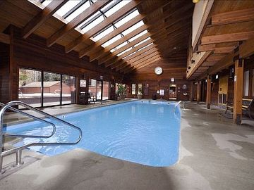 Clubhouse pool area.