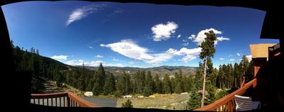 Panoramic shot from the deck