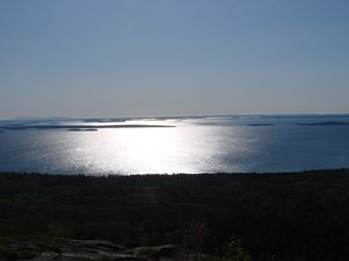 Camden apartment photo - Early morning view of the Islands of Penobscot Bay from Mt. Battie.