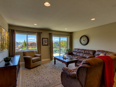 Tahoe Keys house rental - Upstairs family room.