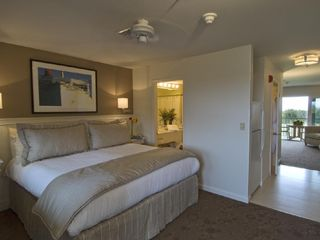 Edgartown hotel photo - Our 1-bedroom suite features a king bed.