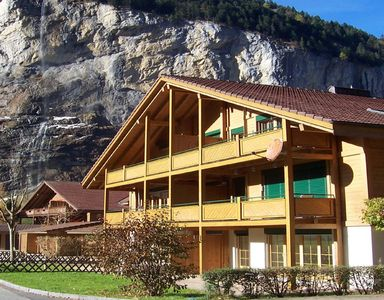 Lauterbrunnen apartment rental - Chalet view